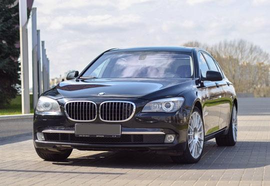 Аренда BMW 750 F02 2009 г.в